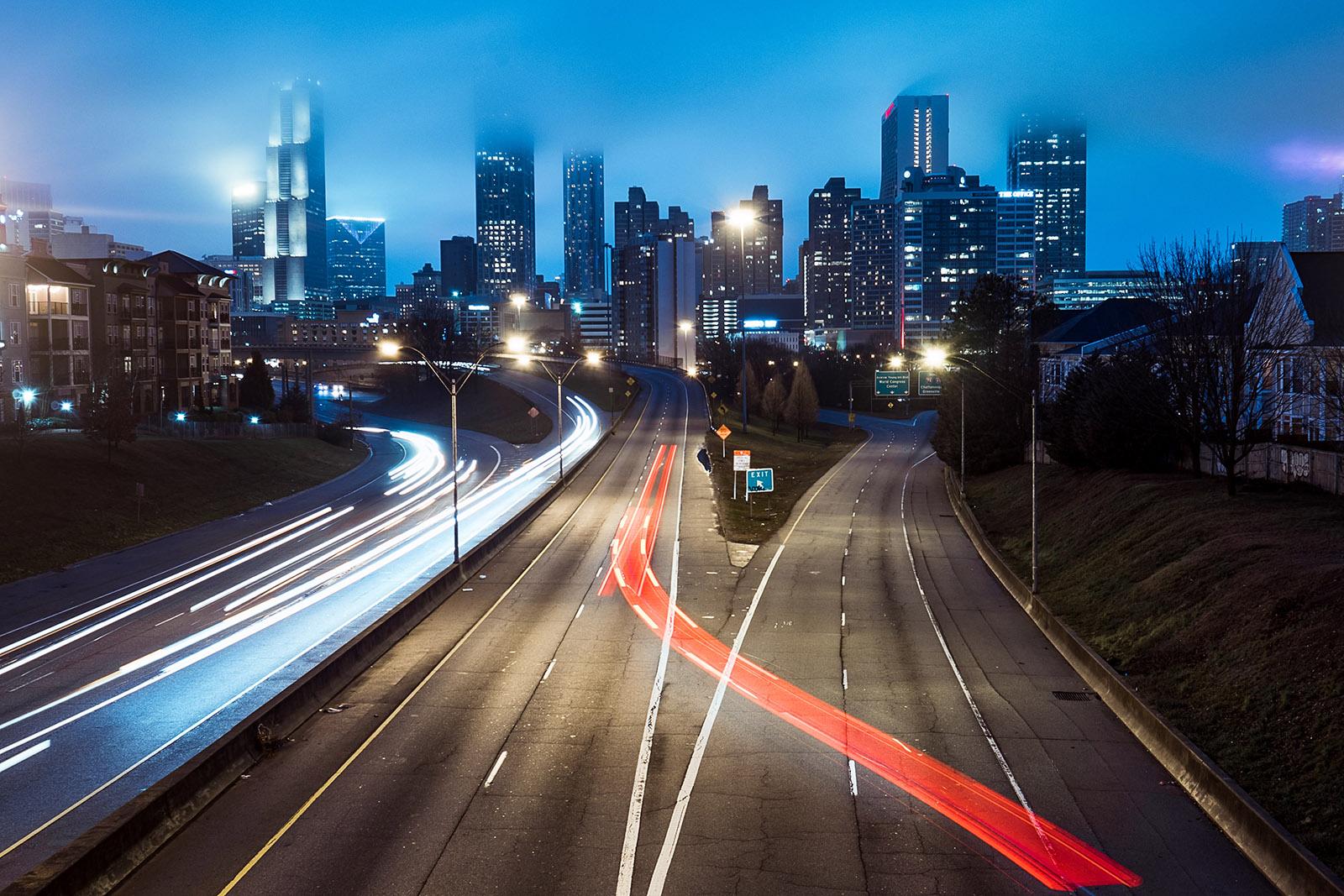 Dans les rues d'Atlanta, la ville labyrinthe