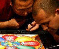 Expo sur l'art de la peinture Tibétaine à Atlanta.