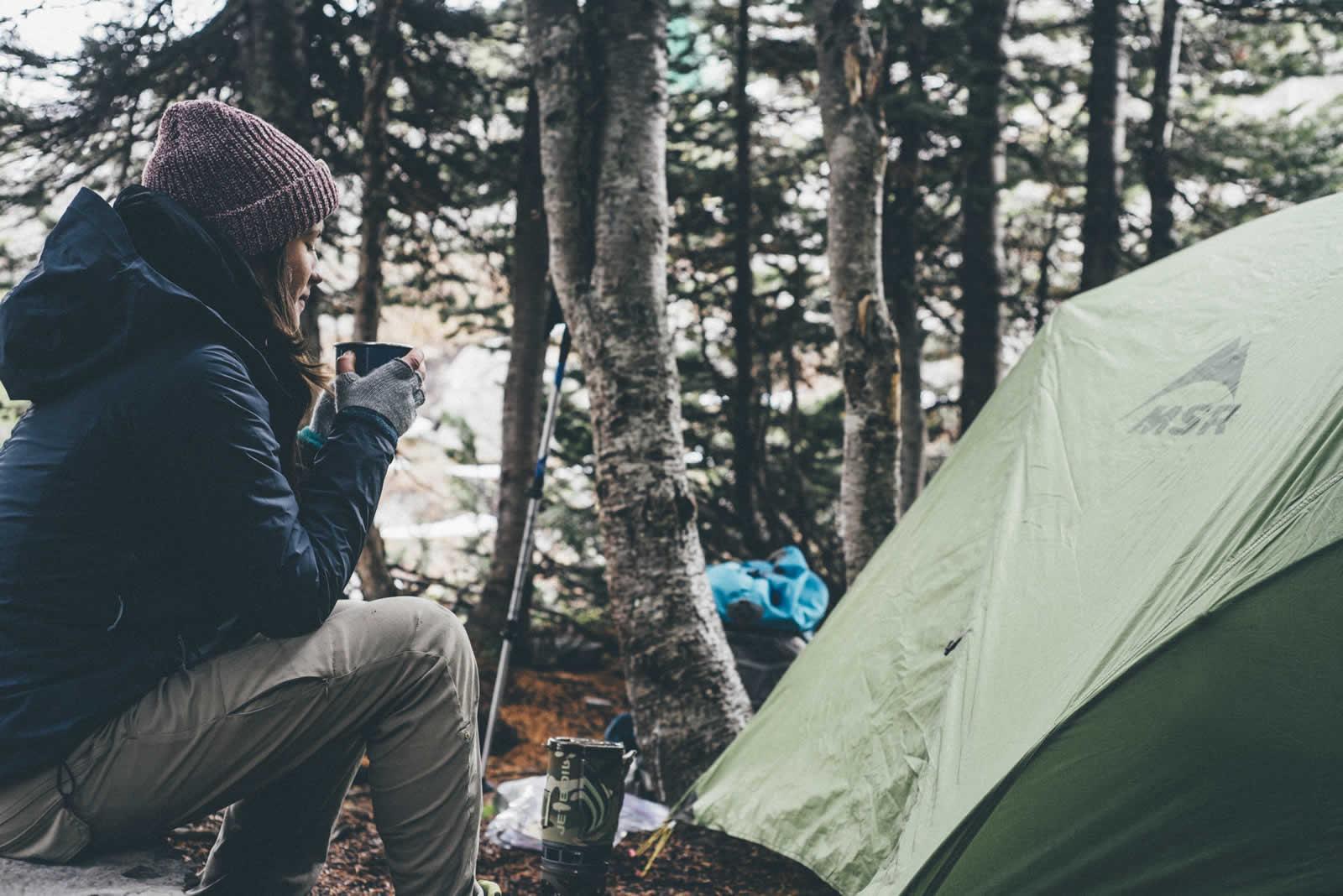 Camper malin chez les Géorgiens