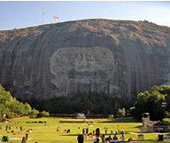 Le Stone Mountain Park près d'Atlanta
