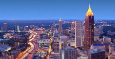 Les Fêtes de Noël et du Nouvel An sur Atlanta et sa région