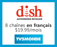 DISH Network - $19.99 / mois