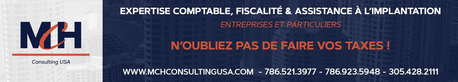 MCH Consulting - n'oubliez pas vos taxes