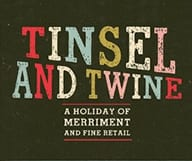 « Tinsel and Twine » vous aide à préparer les fêtes de fin d'année le 8 décembre à Atlanta
