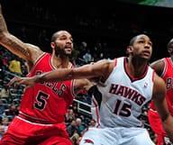 Les Hawks d'Atlanta affrontent les Bulls de Chicago à domicile