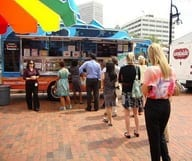 Les Food Trucks de Underground Atlanta
