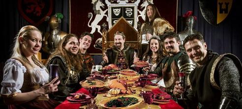 Un dîner-spectacle médiéval à Lawrenceville