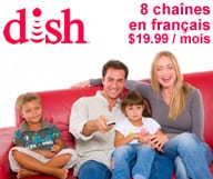 Dish Network - Chaînes françaises aux Etats-Unis