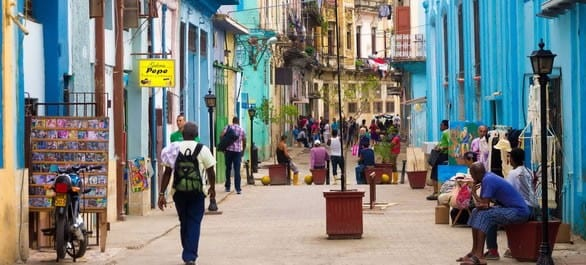 Une escapade à Cuba