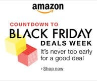 Vendredi de folie : le Black Friday sur Amazon