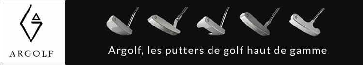 ARGOLF, putters de golf haut de gamme