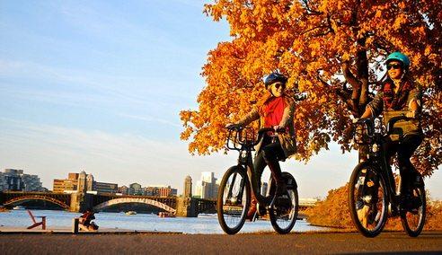 Le Hubway, le vélo à temps partagé à Boston