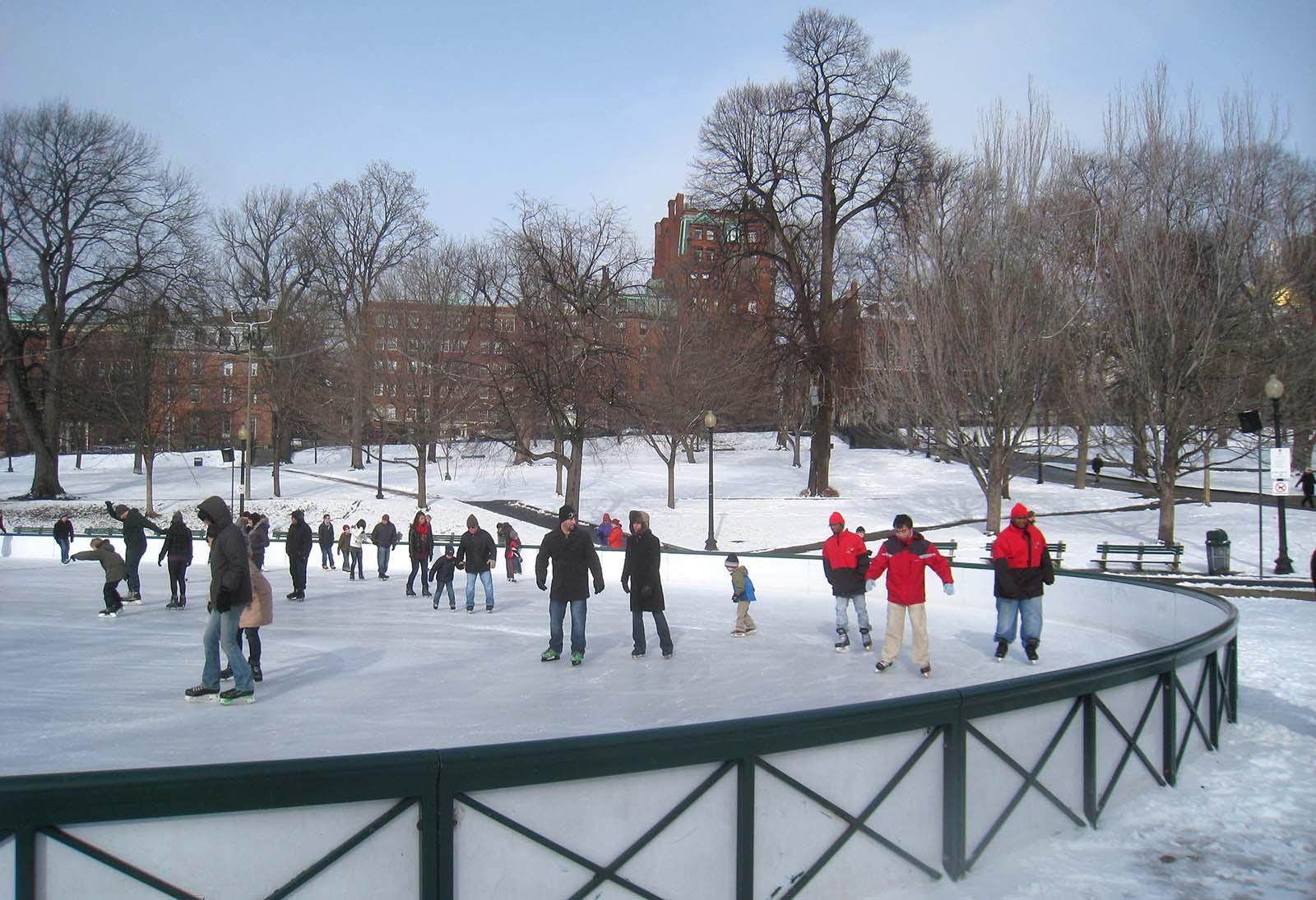 TOP 3 des patinoires de Boston