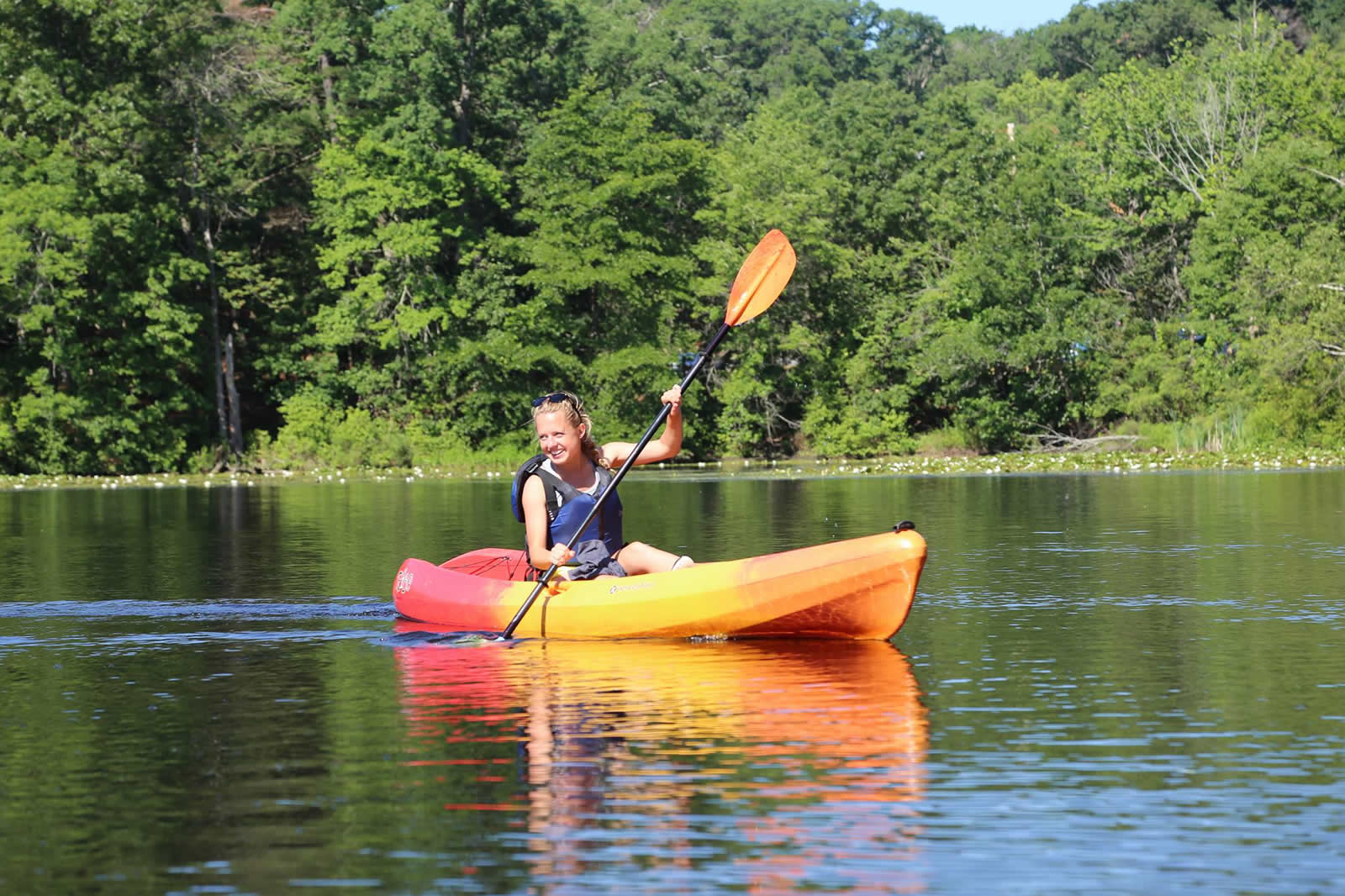 Faire du Kayak sur la Charles River