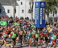Le marathon de Boston