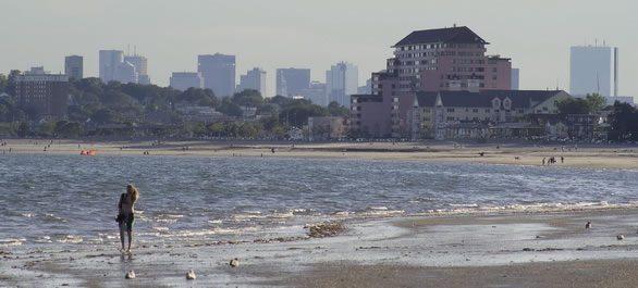Aller à la plage à Boston