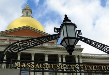 La visite de la State House of Massachusetts
