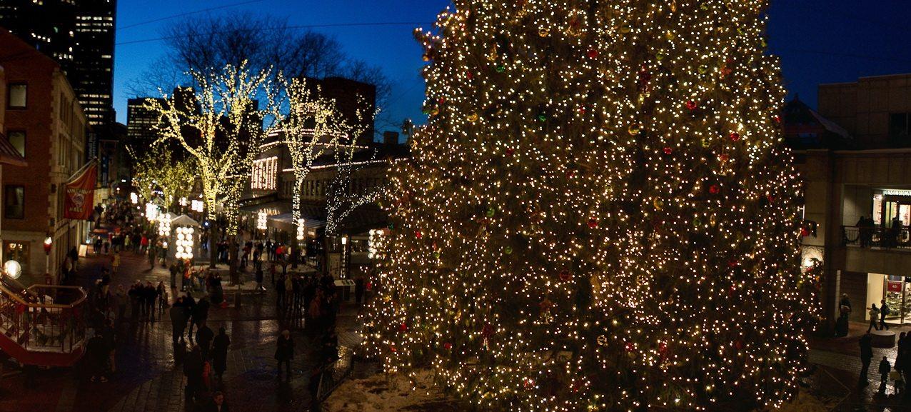 Les marchés de Noël à Boston