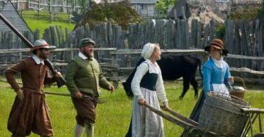 Une journée à Plymouth - Flashback dans l'histoire de l'Amérique