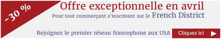 Promo avril inscription French District - commerçants