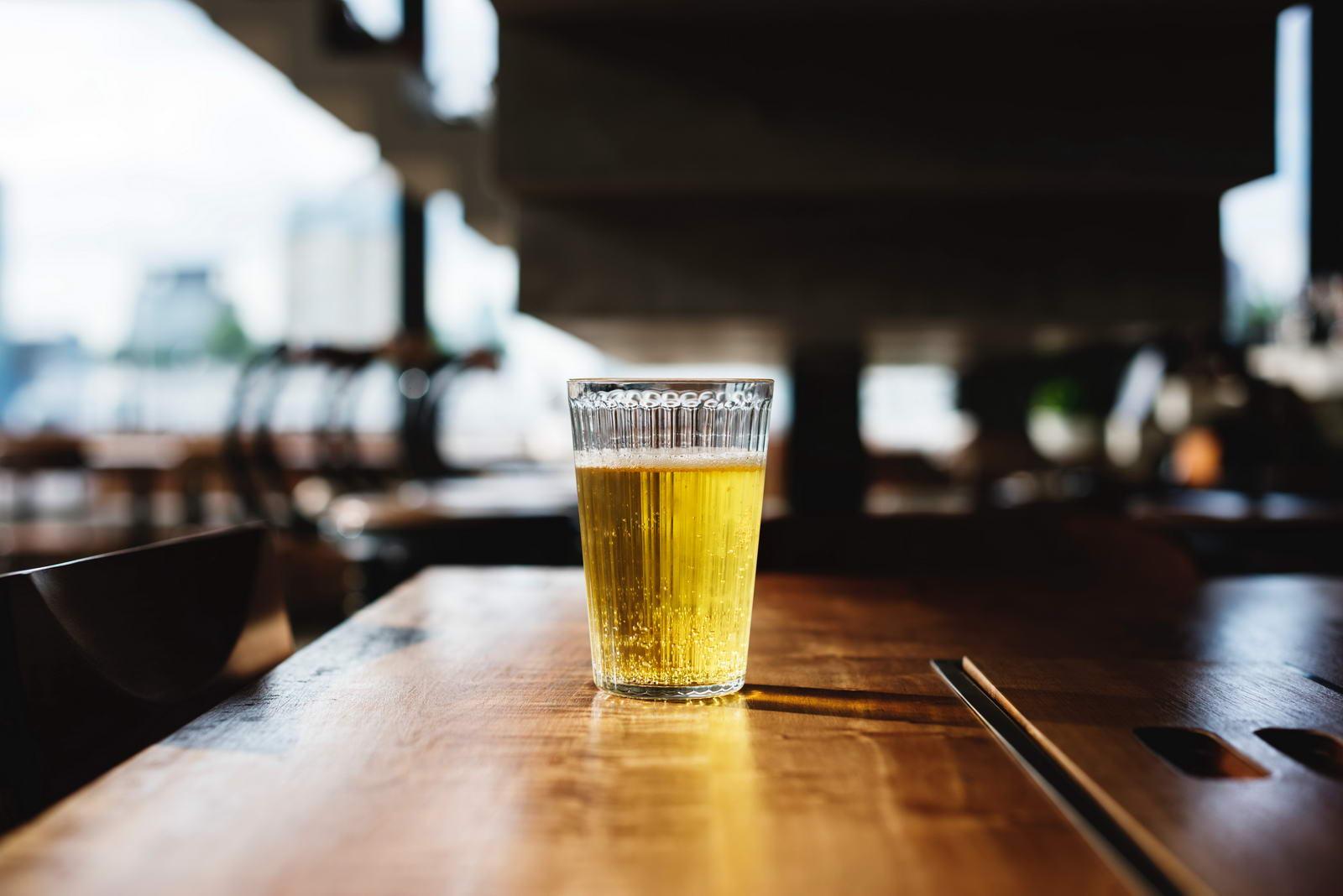 Un panaché des bières aux États-Unis