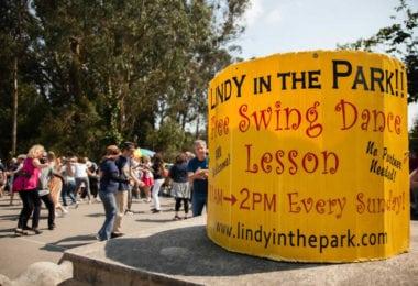 Danser le swing le dimanche au Golden Gate Park