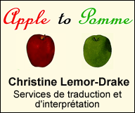 Apple to Pomme – Christine Lemor-Drake