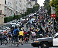 Critical Mass, le méga-rendez vous du vélo à SF