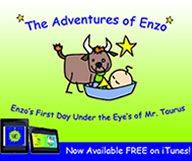 Les aventures d'Enzo sont maintenant disponibles sur iTunes