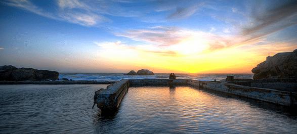 Les Sutro Baths à San Francisco