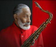La légende du saxo Sonny Rollins en concert lors du Festival de Jazz de SF.