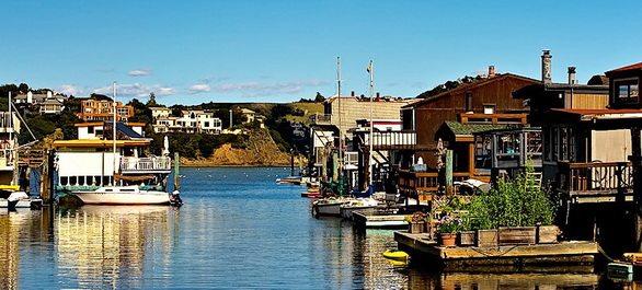 Les Houseboats à Sausalito