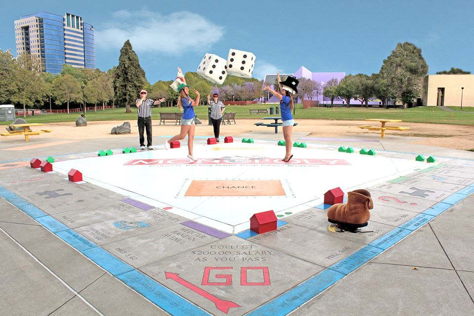 Le Monopoly géant de San José