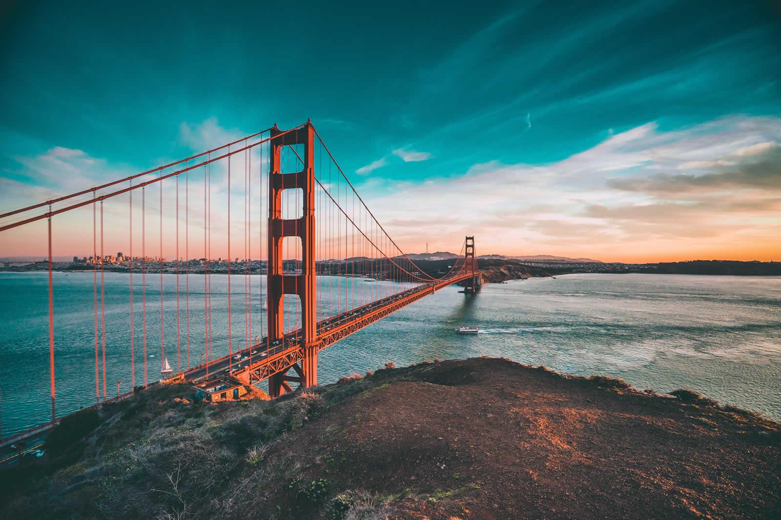 Top 5 des vues sur San Francisco