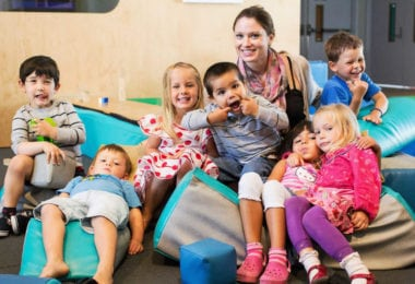 San Francisco avec des enfants