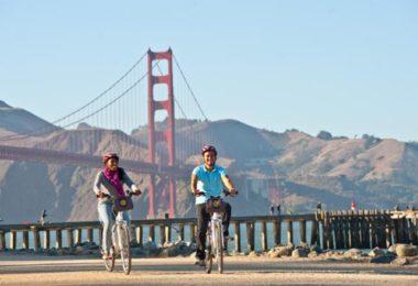San Francisco à 2 roues