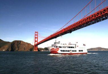 Une croisière sous le Golden Gate