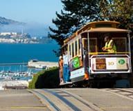 Balade avec vue dans un Cable Car à San Francisco