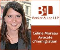 Becker & Lee LLP - Céline Moreau