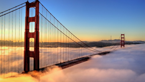 Le brouillard à San Francisco