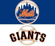 Les Giants affrontent les Mets
