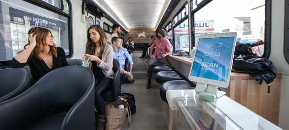 Leap Transit à San Francisco, le bus pour rester connecté