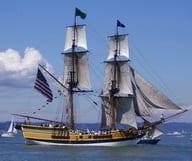 Sur les eaux avec les pirates