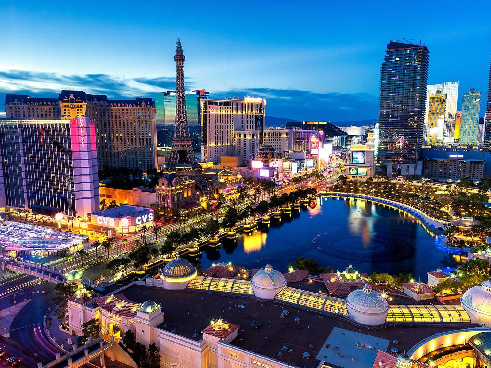 Les meilleurs hôtels casinos de Las Vegas
