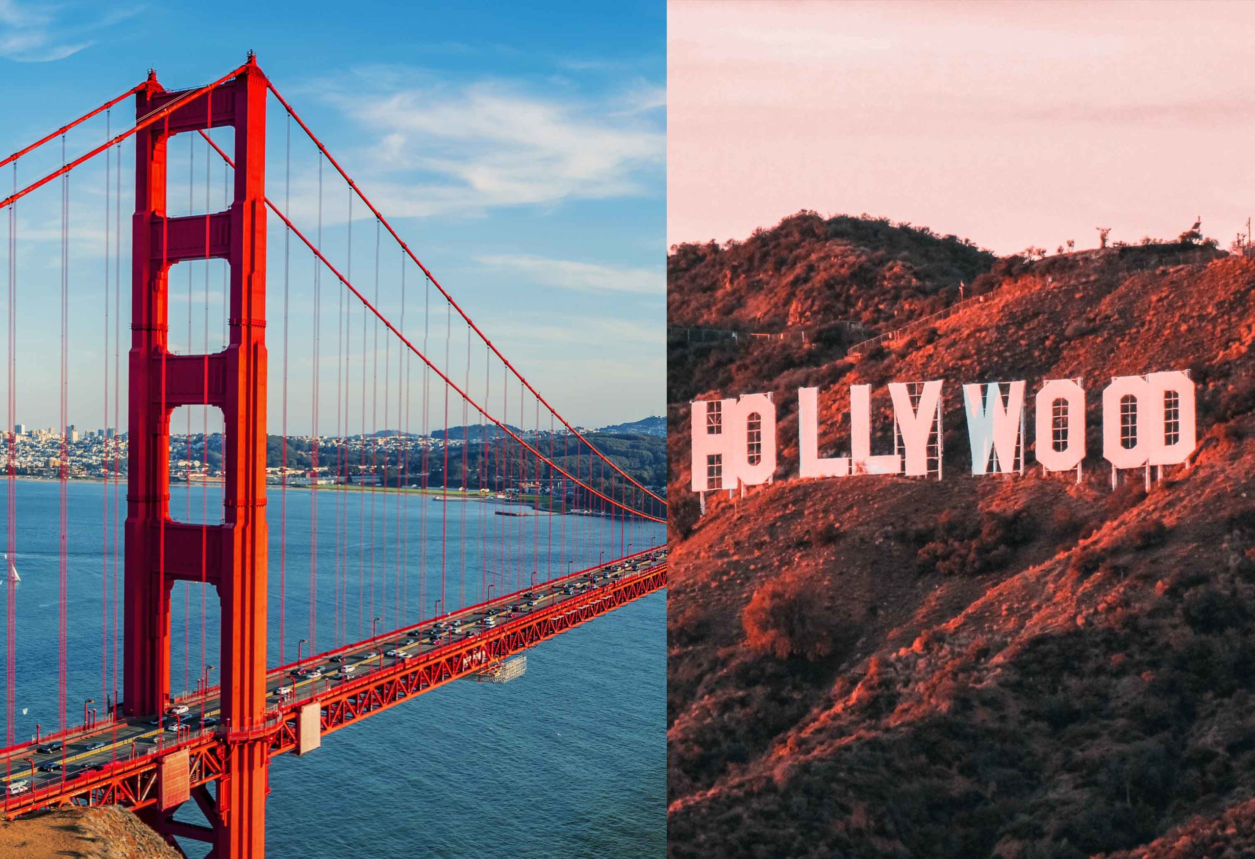 Los Angeles vs San Francisco