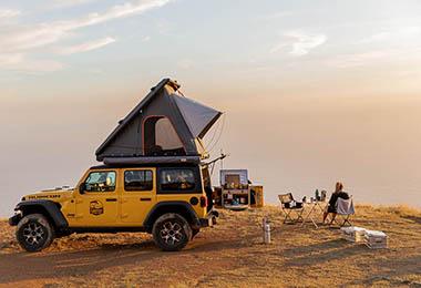 Louez un 4x4 tout équipé pour un road trip américain avec Cypress Overland