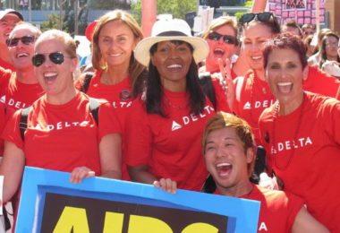 AIDS Walk, en marche contre la maladie à Los Angeles