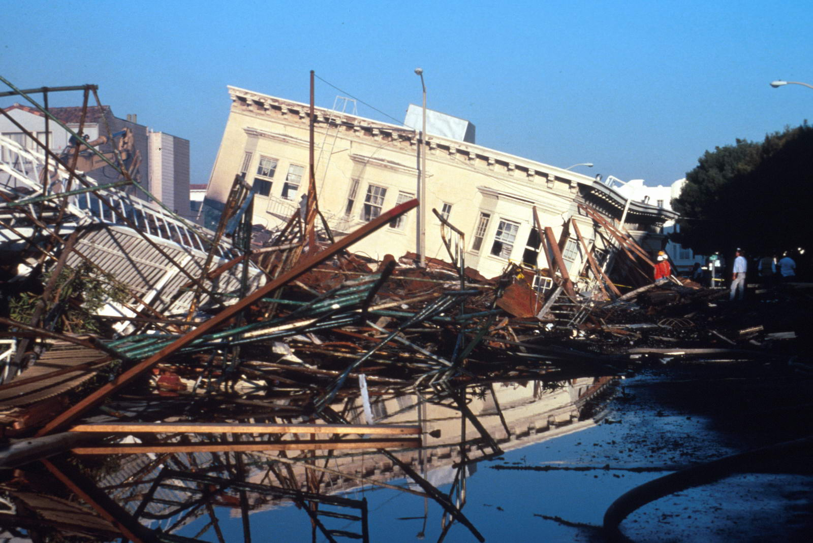 Se préparer à un séisme en Californie