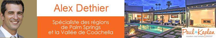 Alexandre Dethier Palm Springs Real Estate