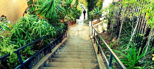 Les escaliers secrets de Los Angeles